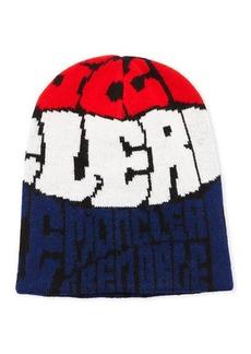 Moncler Men's Berretto Rib-Knit Beanie Hat