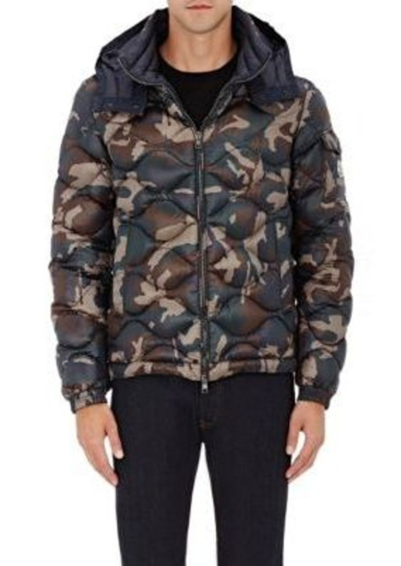338b61d60 SALE! Moncler Moncler Men s Camouflage Tech-Fabric Hooded Puffer Jacket