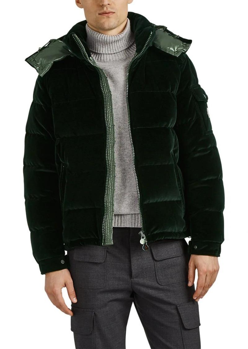 711cdf060 Moncler Moncler Men s Down-Quilted Velvet Puffer Jacket