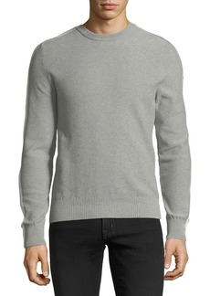 Moncler Men's Heathered Cotton Sweater