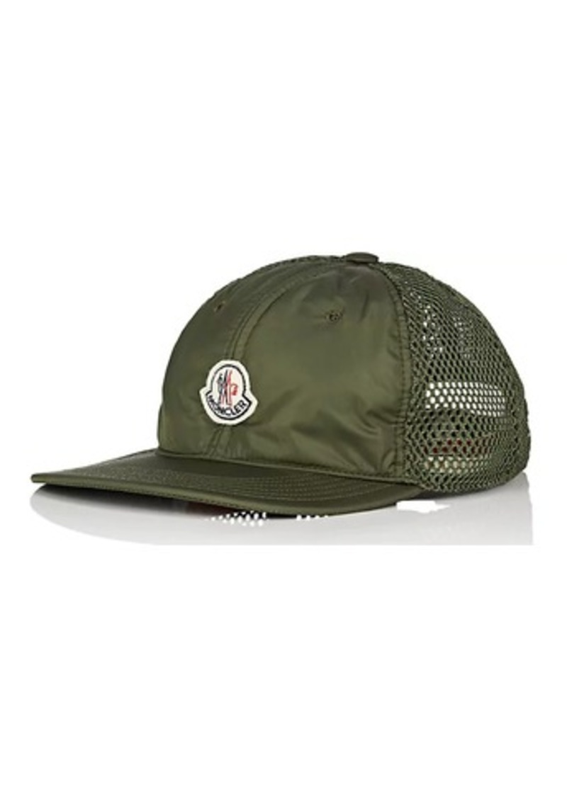 ae454772b1724 SALE! Moncler Moncler Men s Logo Mesh-Back Trucker Hat - Olive