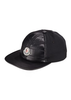 Moncler Men's Quilt-Front Baseball  Cap