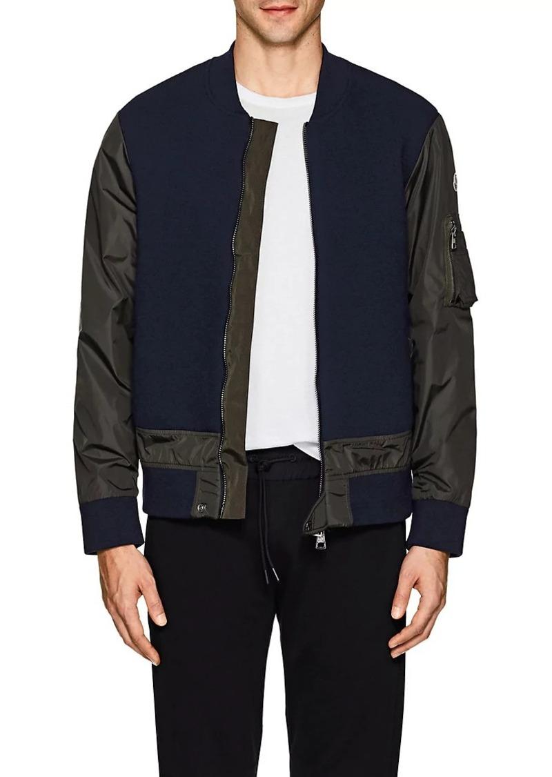 moncler men's wool jacket