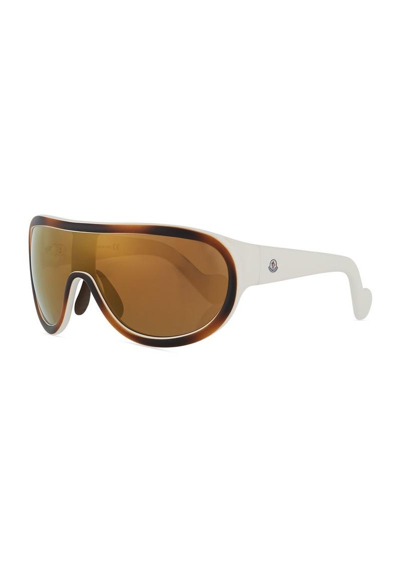 a87f6038792e Moncler Mirrored Shield Sunglasses