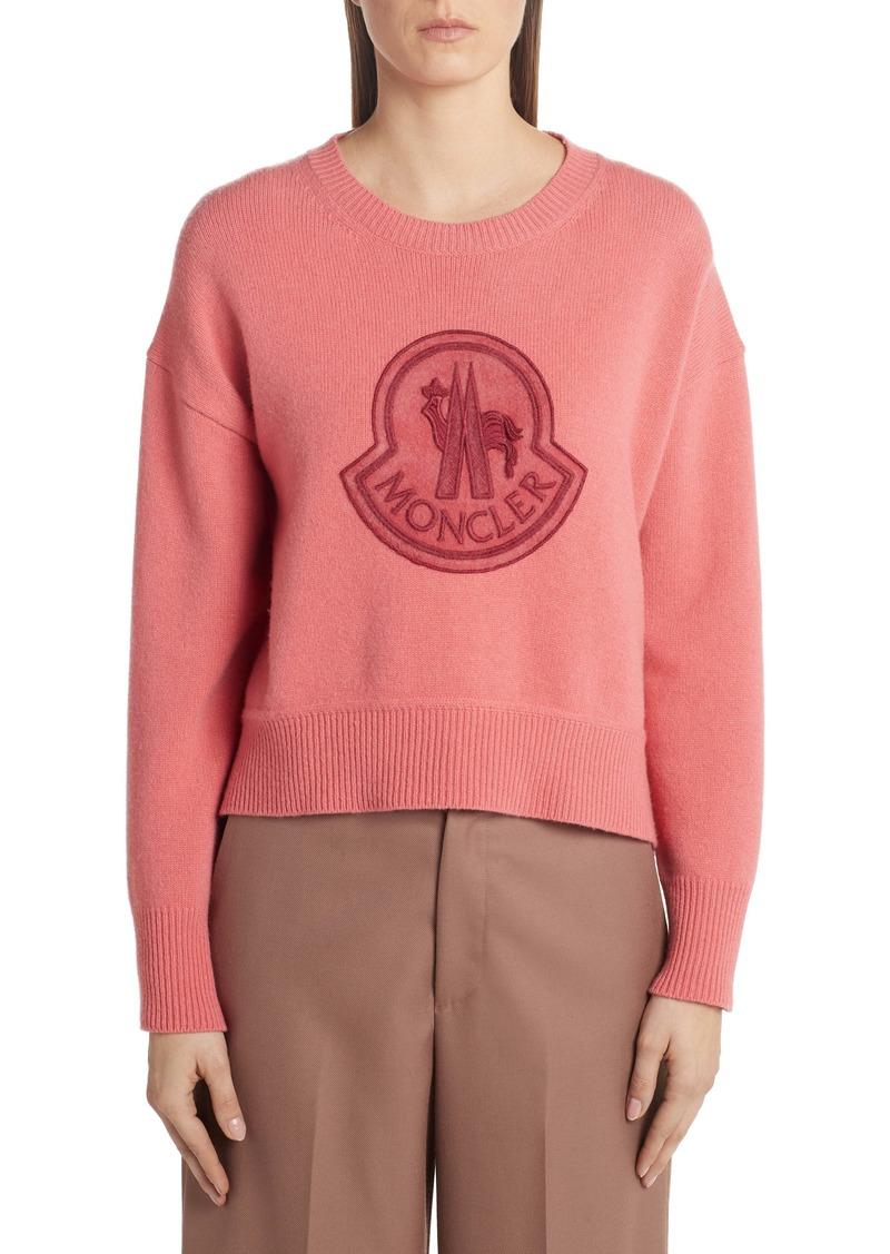 Moncler Monochromatic Logo Sweater