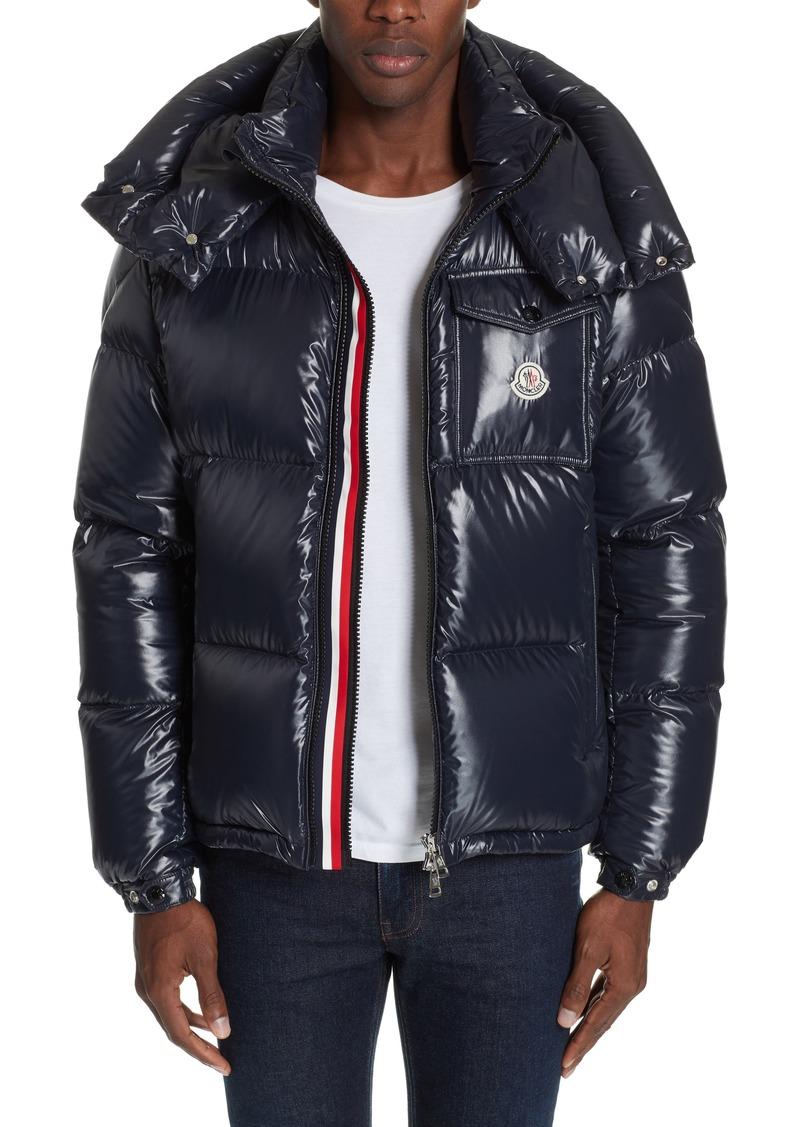 07882060fd81 Moncler Moncler Montbeliard Giubbotto Stripe Puffer Coat