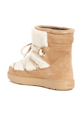 Moncler Moncler New Fanny Stivale Genuine Shearling Short Moon Boots ... b58afb31a69