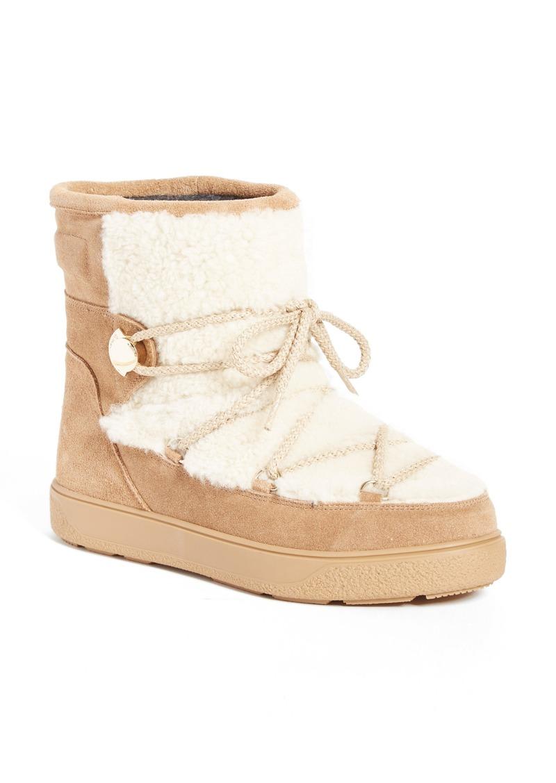40f52d2ba55 New Fanny Stivale Genuine Shearling Short Moon Boots (Women)