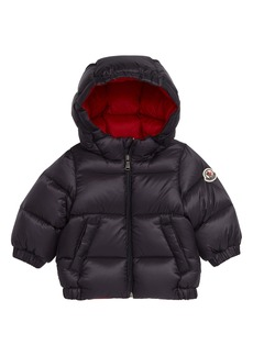 Moncler New Macaire Water Resistant Hooded Down Puffer Jacket (Baby & Toddler)