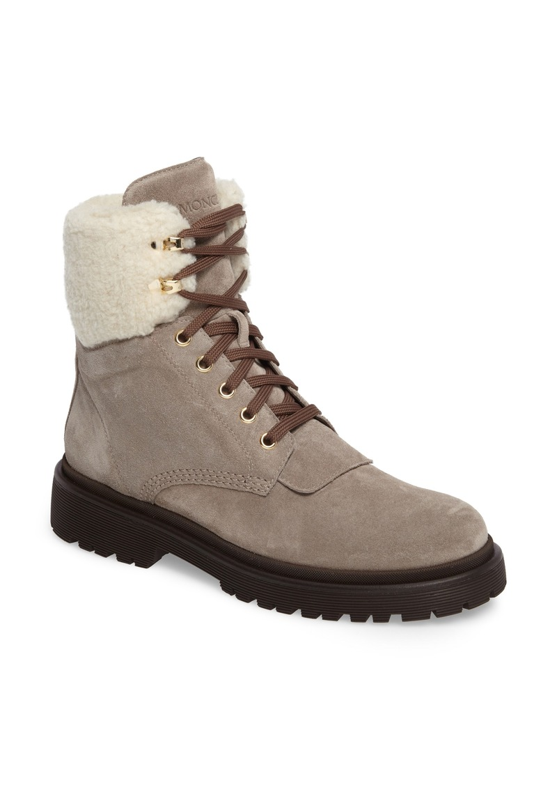 611aed9d5 Moncler Moncler Patty Scarpa Faux Shearling Cuff Boot (Women)