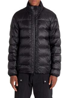 Moncler Peyre Back Logo Water Resistant Down Puffer Coat
