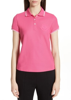 Moncler Piqué Cotton Polo