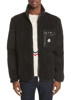 Moncler Polar Fleece Zip Jacket