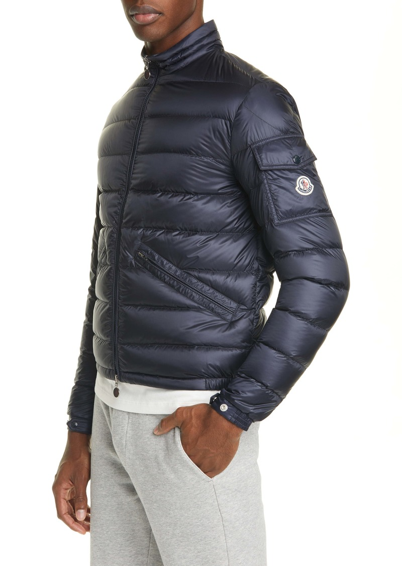 Moncler Quilted Nylon Down Jacket