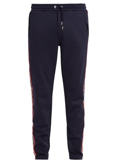 Moncler Relaxed-leg cotton-blend track pants
