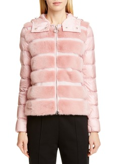 9f31ca55e Moncler Grosgrain-trimmed Quilted Shell Down Jacket   Outerwear