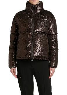 Moncler Rimac Sequined Puffer Jacket