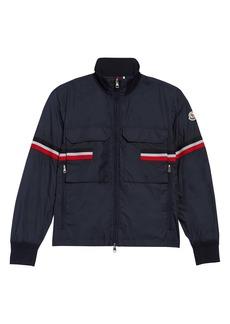 Moncler Seine Stripe Nylon Jacket