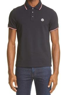 Moncler Short Sleeve Piqué Polo