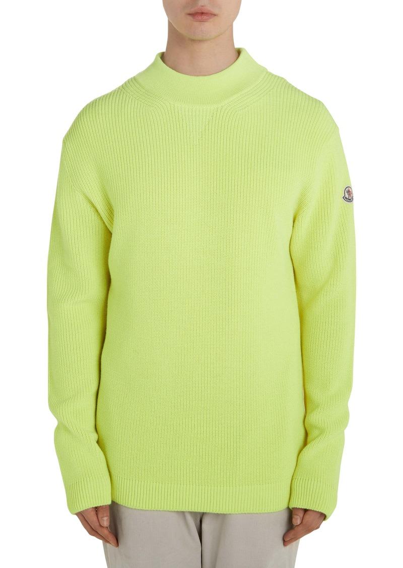 Moncler Solid Crewneck Sweater