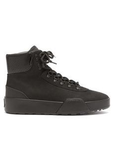 Moncler Promyx High trek-sole suede boots