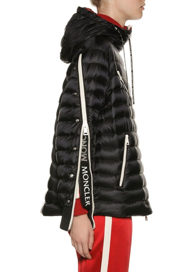 Moncler Stockholm Zip-Sleeve Puffer Jacket