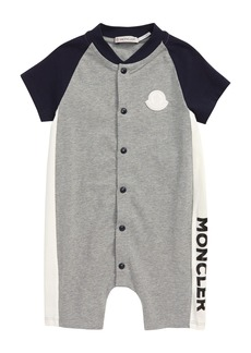 Moncler Stretch Jersey Romper (Baby)