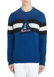 Moncler Stripe Logo Sweater