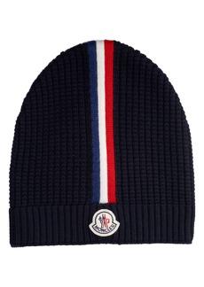 Moncler Stripe Wool Beanie