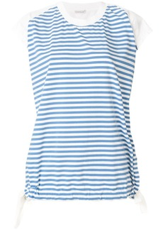 Moncler striped short-sleeve top