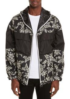 Moncler Thiou Floral Print Jacket