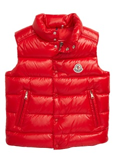 Moncler Tib Water Resistant Quilted Down Vest (Little Boy & Big Boy)