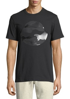 Moncler Tonal Camouflage Logo T-Shirt