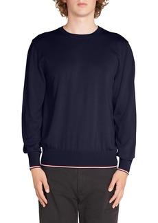 Moncler Tricot Girocollo Wool Sweater