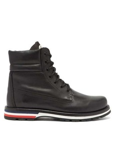Moncler Vancouver leather boots