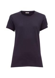 Moncler Velvet logo-appliquéd cotton T-shirt