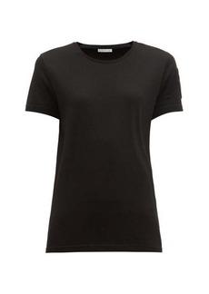 Moncler Velvet-logo patch cotton T-shirt