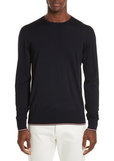 Moncler Virgin Wool Crewneck Sweater