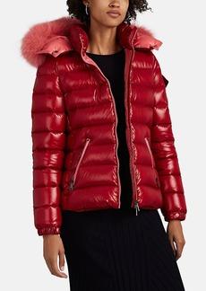 Moncler Women's Bady Fur-Trimmed Down Puffer Coat