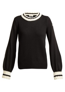 Moncler Wool and cashmere-blend sweater
