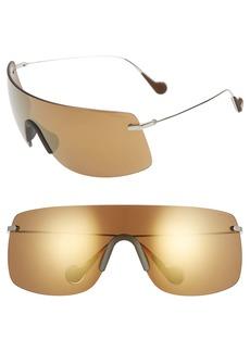 Moncler x Valextra Genius 1952 Mirrored Shield Sunglasses