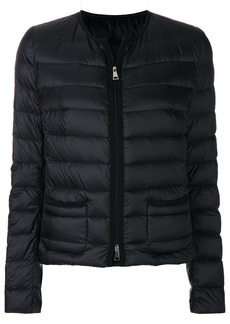 Moncler zipped puffer jacket - Black