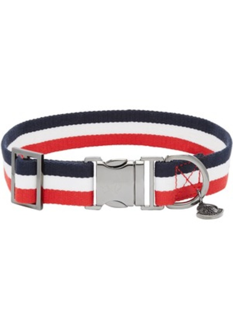 Moncler Multicolor Poldo Dog Couture Edition Webbing Dog Collar