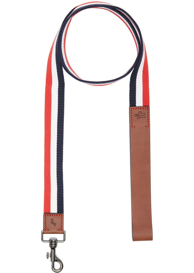 Moncler Multicolor Poldo Dog Couture Edition Webbing Dog Leash