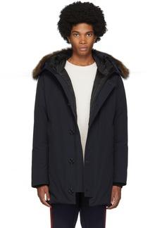 Moncler Navy Pola Giubbotto Jacket