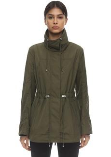 Moncler Ocre Nylon Jacket