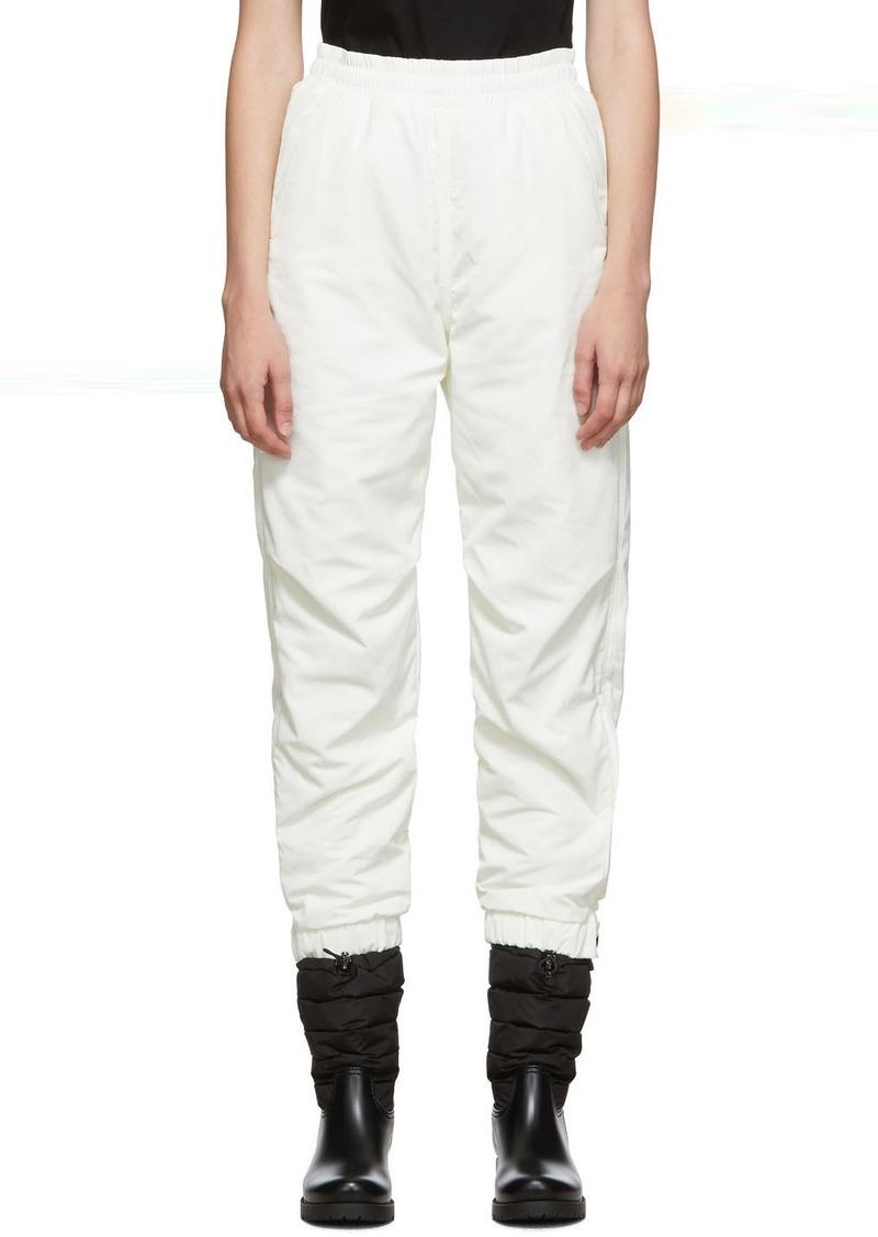 Moncler Off-White Après-Ski Lounge Pants