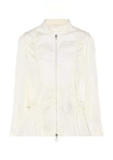 Moncler Orange quilted jacket