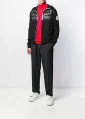 Moncler padded panel track jacket