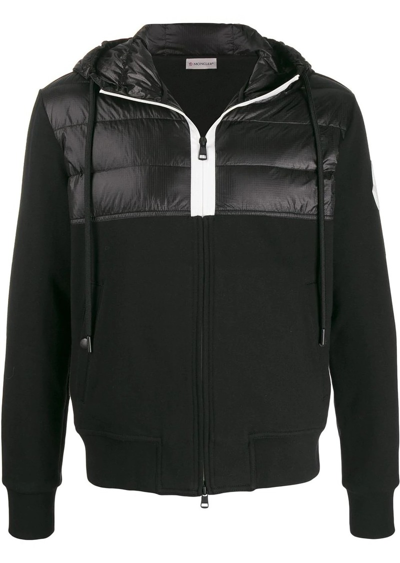 Moncler padded panel track jacket